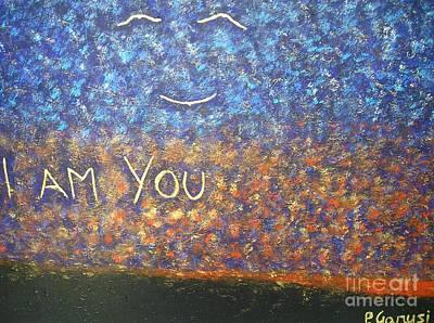 I Am You Art Print by Piercarla Garusi