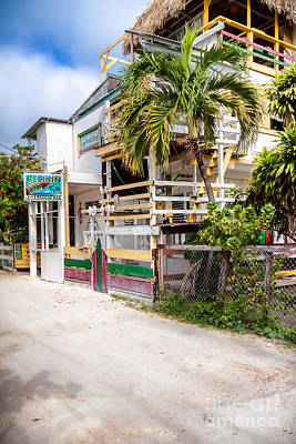 Photograph - I And I Reggae Bar by Lawrence Burry