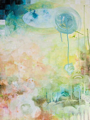 Drip Painting - I Appear Missing by Sandra Cohen