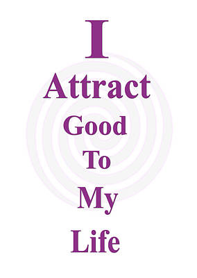 I Attract Art Print