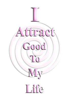 I Attract Pink Art Print