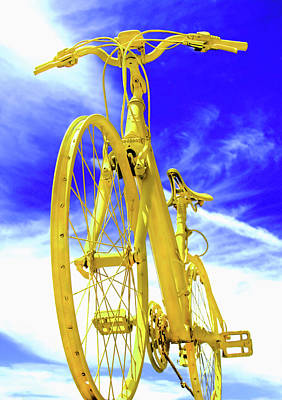 Triathalon Photograph - I Believe I Can Ride by Abra Blue