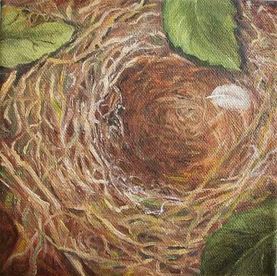 I Built You A Nest Art Print by Irene Corey