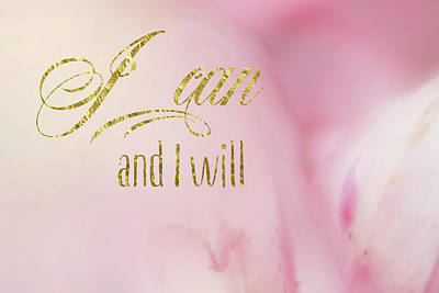 Digital Art - I Can And I Will by Ramona Murdock