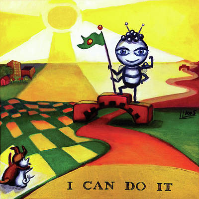 Painting - I Can Do It by Lorette Kos