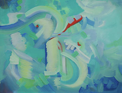 Painting - I Can Do This by Deb Breton