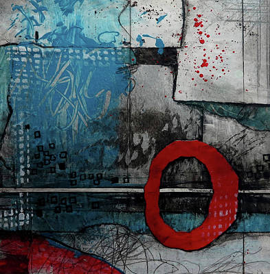 Circle Mixed Media - I Can Do This					 by Laura Lein-Svencner