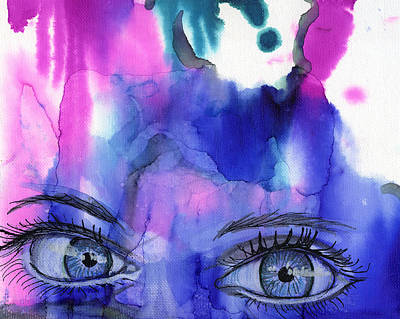 Overcoming Mixed Media - I Can See Clearly Now by Shann Ferreira