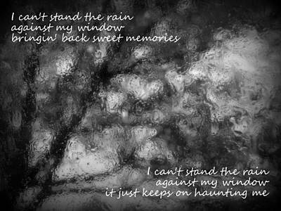 Photograph - I Can't Stand The Rain by Guy Pettingell