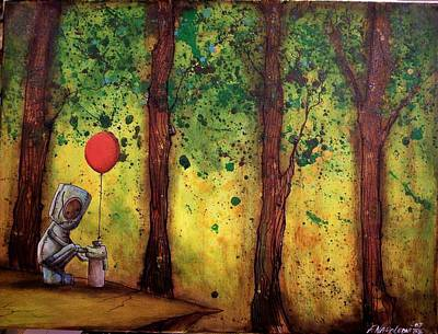 Painting - I Didnt Expect A Reply by Fabio Napoleoni