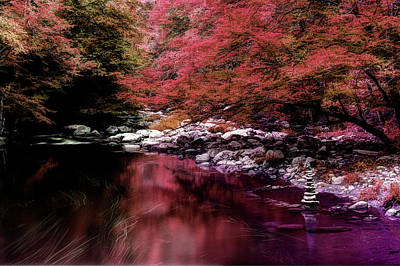 River Scenes Photograph - I Do Dream In Color by Mike Eingle