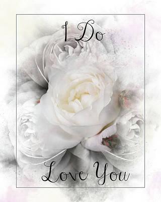 Photograph - I Do Love You Framed by Teresa Wilson
