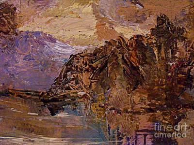Digital Art - I Dream Mountains by Nancy Kane Chapman