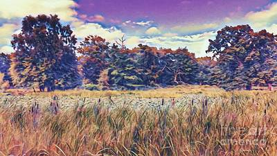Digital Art - I Dream Of The Country by Abbie Shores