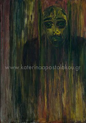 Figurativ Painting - I Feel Good by Katerina Apostolakou