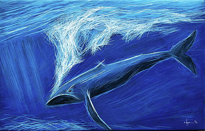 Painting - I Fight For Clean Waters by Angela Treat Lyon