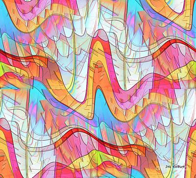 Digital Art - I Get Around by Iris Gelbart