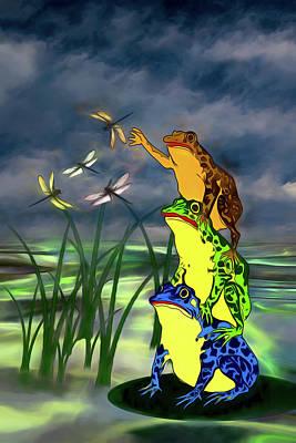 Digital Art - I Get Flies With A Little Help From My Friends by John Haldane
