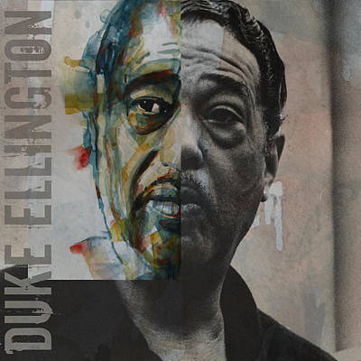 Jazz Legends Wall Art - Painting - I Got It Bad And That Ain't Good by Paul Lovering