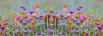 I Got To Get Back To The Garden Art Print by Bill Cannon