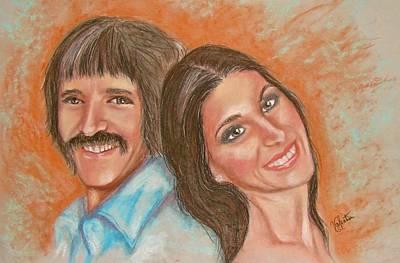 I Got You Babe Art Print by Sandra Valentini