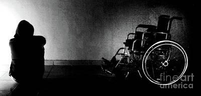 Infirm Photograph - I Hate Darkness..  by Prar Kulasekara