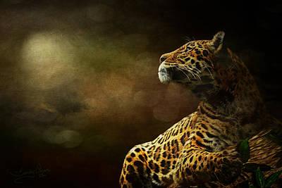 Cheetah Digital Art - I Have A Dream by Sandy Oman