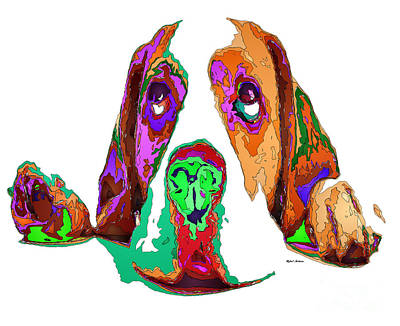 Digital Art - I Have Been Good, I Promise. Pet Series by Rafael Salazar