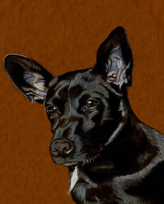 I Hear Ya - Dog Painting Art Print