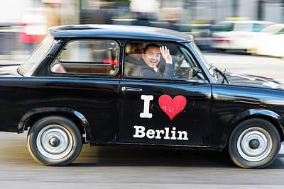 Photograph - I Heart Berlin by Alex Lapidus