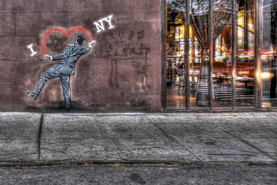 I Heart Ny Street Art 2 Original
