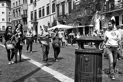 Photograph - I Heart Rome by John Rizzuto
