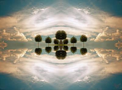 I Imagine The Paradise Art Print by Renata Vogl