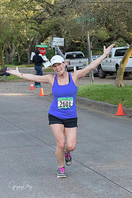 Photograph - I Just Love Marathons by Gregory Daley  MPSA