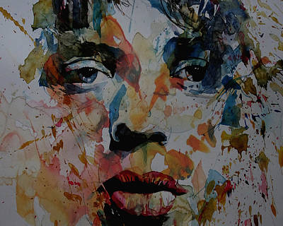 Mick Jagger Painting - I Know It's Only Rock N Roll But I Like It by Paul Lovering