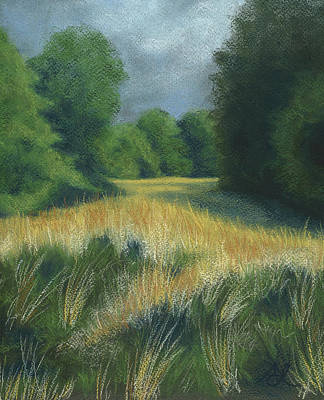 Painting - I Know You're In There by Anne Leeds