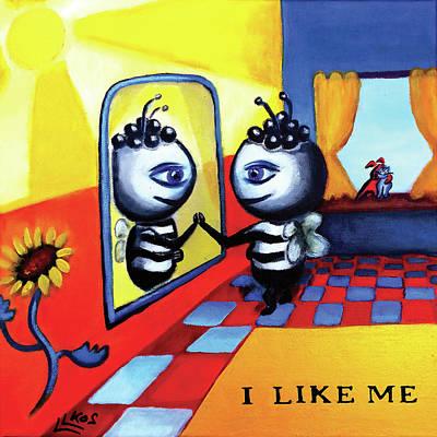 Painting - I Like Me by Lorette Kos