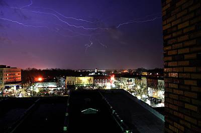 Photograph - I Love A Rainy Night by Jason Bohannon
