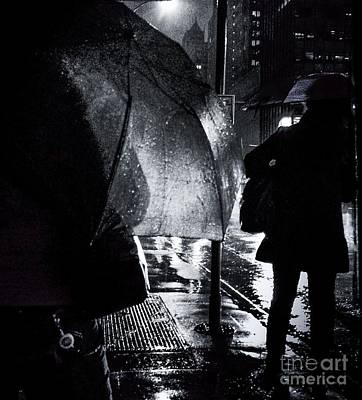 Photograph - I Love A Rainy Night by Miriam Danar