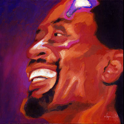 Painting - I Love Bobby Mcferrin by Angela Treat Lyon