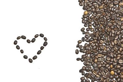 Pleasure Photograph - I Love Coffee by Joana Kruse