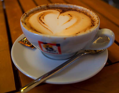 I Love Coffee Art Print by Laura Ragland
