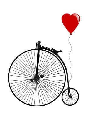 Photograph - I Love Cycling by Gill Billington