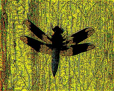 Odonata Painting - I Love Dragonflies by Cliff Wilson