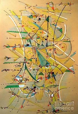 Digital Art - I Love Kandinsky  by Nancy Kane Chapman