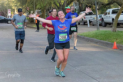 Photograph - I Love Marathons by Gregory Daley  MPSA