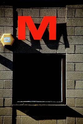 Photograph - I Love My M by Jez C Self