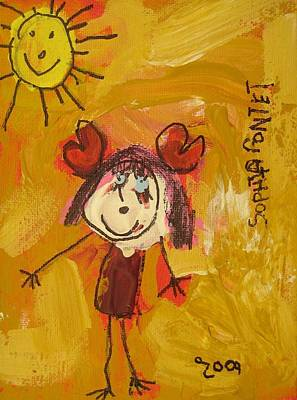 Painting - I Love My Sun by Sophia Pontet