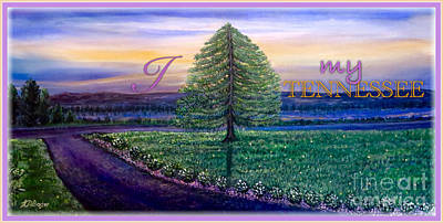 Painting - I Love My Tennessee  by Kimberlee Baxter