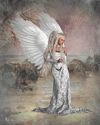 Digital Art - I Love My Wings by Ali Oppy